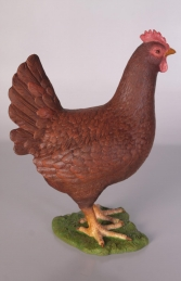 Chicken - Red & Brown (JR 100041B)