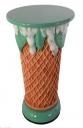 Ice Cream Table - Mint Green (JR 130019G) - Thumbnail 01