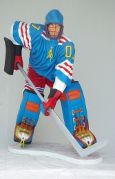 Ice Hockey Player Lifesize (JR 1630) - Thumbnail 01