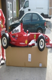 Racing Car Wall Decor - Ferrari 9Ft (JR DF6332F) - Thumbnail 01