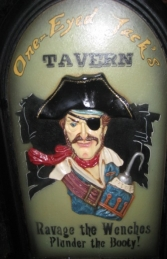 Pirate Jack's Tavern Sign 2ft (JR AP1650) - Thumbnail 03