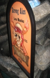 Pirate Pub Advertising Sign 2ft Tall (JR AP1655) - Thumbnail 02
