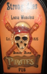 Pirate Pub Advertising Sign 2ft Tall (JR AP1655) - Thumbnail 03