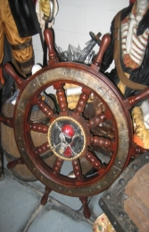 Pirates Ships Wheel (JR R-077)		 - Thumbnail 01