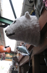 Polar Bear Head (JR 2241) - Thumbnail 03