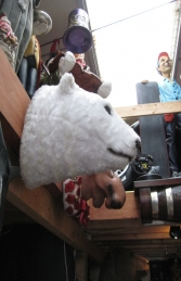 Polar Bear Head (JR 2241) - Thumbnail 02