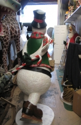 Snowman on Ice Skates 6ft (JR 2736) - Thumbnail 02