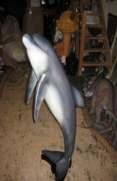 Dolphin Jumping - Large (JR 020609) - Thumbnail 01