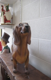 Daschund Dog - Brown (JR 110105br) - Thumbnail 03