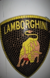 Lamborghini Badge Mosaic (JR 2606) - Thumbnail 03