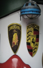 Lamborghini Badge Mosaic (JR 2606) - Thumbnail 02