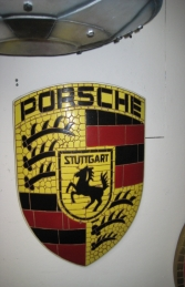 Porsche Badge Mosaic (JR 2609)