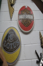 Harley Davidson Mosaic Sign (JR 2674)