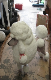 Poodle Dog - White (JR 110121) - Thumbnail 01