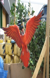 Parrot Flying - Red (JR JY)