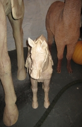 Terracotta Horse - Small 3ft (JR JV) - Thumbnail 02