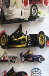 Racing Car Wall Decor - Renault 9ft (JR DF6332R)