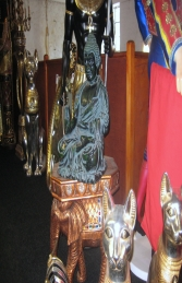 Buddha Sitting Green 2ft (JR HBUD2) - Thumbnail 03