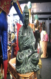 Buddha Sitting Green 2ft (JR HBUD2) - Thumbnail 01