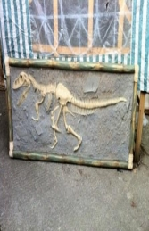 T Rex Skeleton wall mounted (JR R-048) - Thumbnail 01