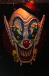 Scary Clown Wall Decor 5ft (JR 2700) - Thumbnail 03