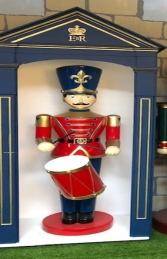 Toy Soldier with Drum 6ft JR 190012 - Thumbnail 02