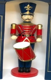 Toy Soldier with Drum 6ft JR 190012 - Thumbnail 03