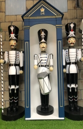 Toy Soldier with Drum 6ft JR 190012WSB - Thumbnail 02