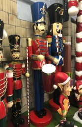 Toy Soldier with Drum 9ft JR 140110 - Thumbnail 02