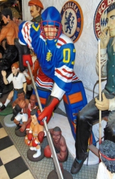 Ice Hockey Player Lifesize (JR 1630) - Thumbnail 03