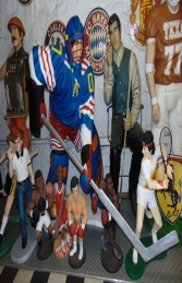 Ice Hockey Player Lifesize (JR 1630)