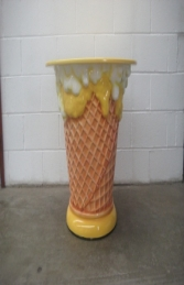 Ice Cream Table - Yellow (JR 130019Y) - Thumbnail 02