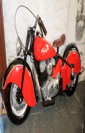 Vintage Bike Wall Decor - Red ( JR DF6420R) - Thumbnail 02