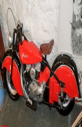 Vintage Bike Wall Decor - Red ( JR DF6420R) - Thumbnail 03