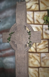 Muiredach Celtic Cross 6ft (JR 120005) - Thumbnail 03