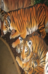 Bengal Tigress lying with Cub (JR 120011) - Thumbnail 02