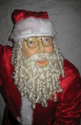 Santa with Real Clothes and Bag - 6ft (JR 1656) - Thumbnail 02