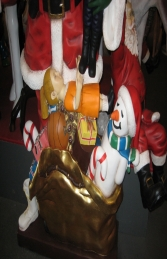 Santa Claus with Gifts - 6ft (JR 2174) - Thumbnail 02