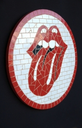 Lips Rock N Roll Mosaic (JR 2673) - Thumbnail 01