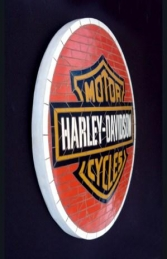 Harley Davidson Mosaic Sign (JR 2674) - Thumbnail 02