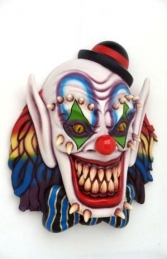 Scary Clown Wall Decor 5ft (JR 2700) - Thumbnail 01