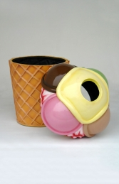 Ice Cream Rubbish Bin (JR 2703)    - Thumbnail 02