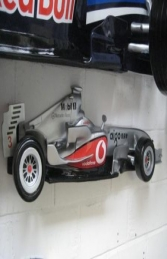 Racing Car Wall Decor - McLaren 4ft (JR DF6330M)