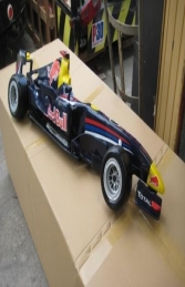 Racing Car Wall Decor - Red Bull 4ft (JR DF6330RB) - Thumbnail 02