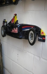 Racing Car Wall Decor - Red Bull 4ft (JR DF6330RB)