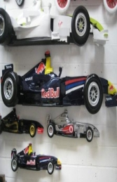 Racing Car Wall Decor - Red Bull 9ft (JR DF6332RB)