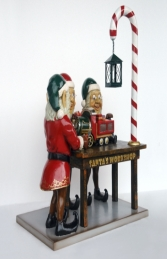 Three Elves in Santa's Workshop JR HX - Thumbnail 02
