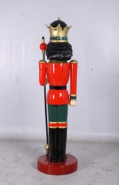 Nutcracker King with Sceptre 6.5ft (JR 0057) - Thumbnail 03