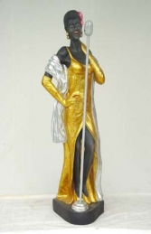 Lady Jazz Singer life-size (JR 285) - Thumbnail 02