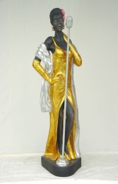 Lady Jazz Singer life-size (JR 285)